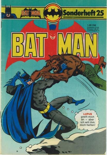 Batman Sonderheft 25 (Z2), Ehapa