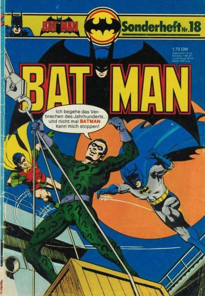 Batman Sonderheft 18 (Z2), Ehapa