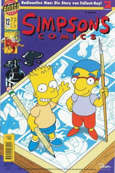 Simpsons Comics 12 (Z1), Panini
