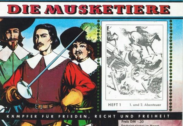 Die Musketiere 1-12 (Z0), CCH