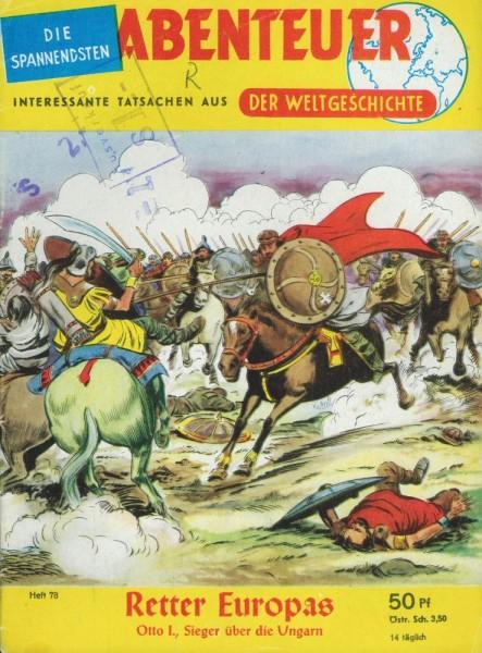 Abenteuer der Weltgeschichte 78 (Z1-2 St, Sz), Lehning