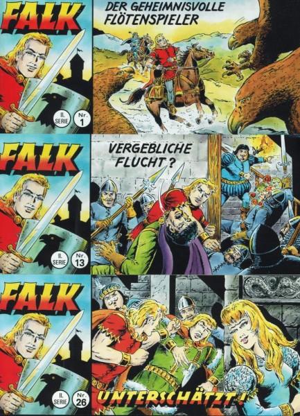 Falk Piccolo 2. Serie 1-26, Wildfeuer