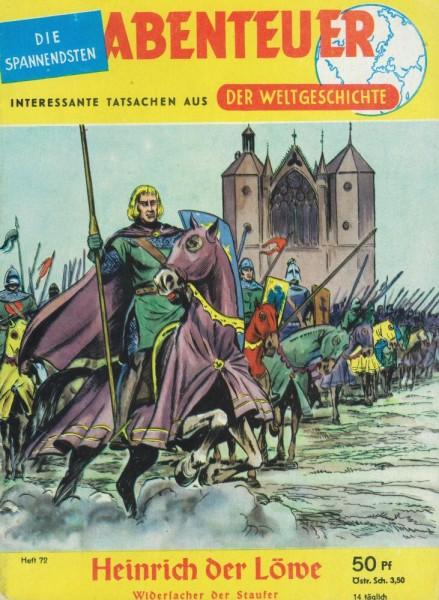 Abenteuer der Weltgeschichte 72 (Z1-), Lehning