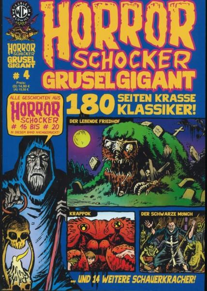 Horror Schocker Grusel Gigant 4, Weissblech