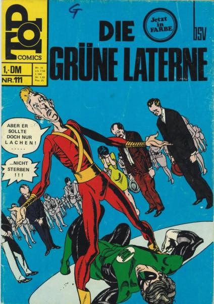 Top Comics - Die Grüne Laterne 111 (Z1-2, SZ), bsv