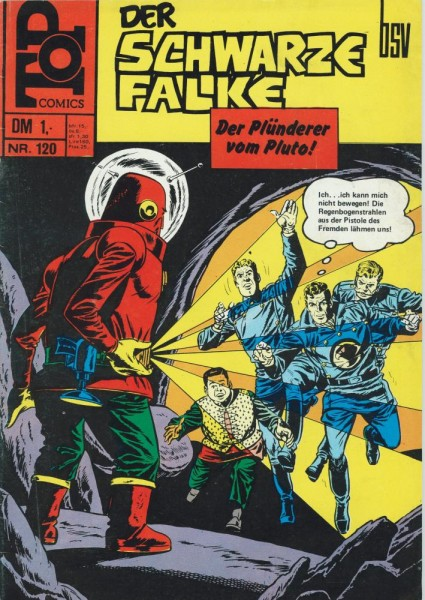 Top Comics - Der schwarze Falke 120 (Z1), bsv
