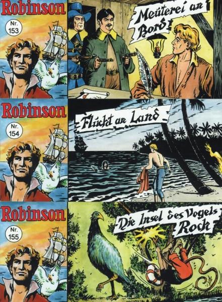 Robinson Piccolo 153-155, Wildfeuer