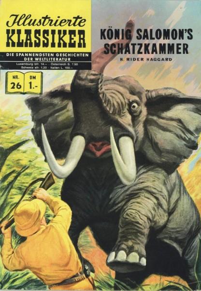 Illustrierte Klassiker 26 (Z1- HLN138), bsv