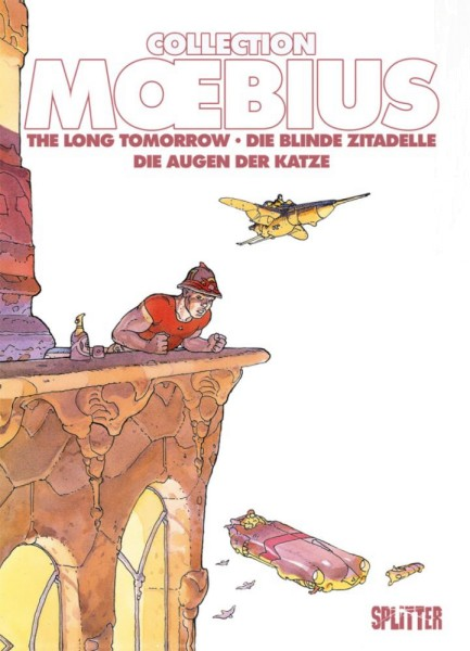 Moebius Collection 3: Die blinde Zitadelle / The Long Tomorrow, Splitter