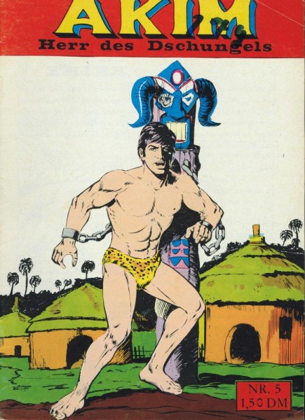 Akim - Herr des Dschungels 5 (Z1 Sz), Hethke