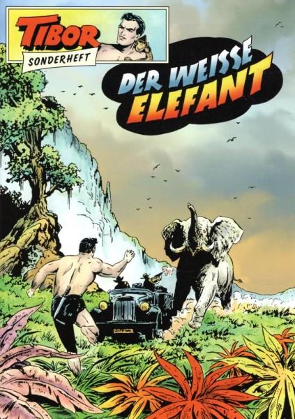 Tibor Sonderheft 8 - Der weisse Elefant, Wildfeuer