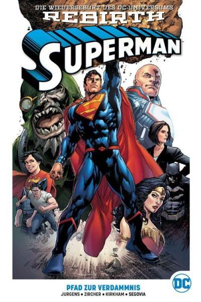 Superman Rebirth Paperback 1 mit Blechschild (lim. 555 Expl.), Panini