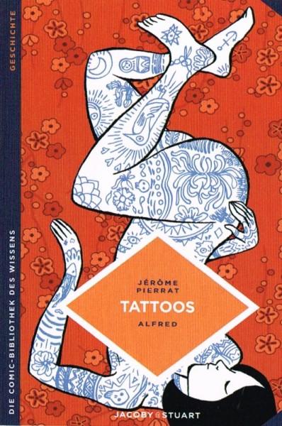Die Comic-Bibliothek des Wissens: Tattoos, Jacoby&Stuart