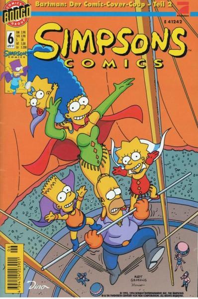 Simpsons Comics 6 (Z1), Panini