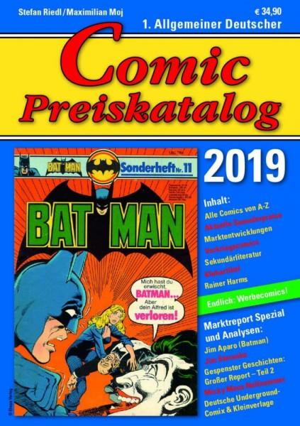 Comic Preiskatalog 2019, Riedl