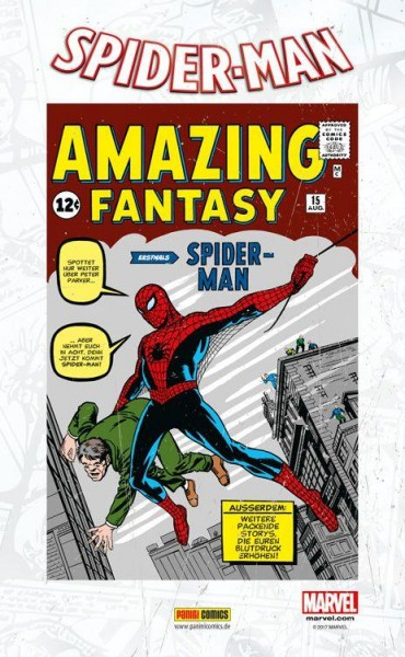 Spider-Man (All New 2016) Paperback 2 mit Blechschild (lim. 555 Expl.), Panini