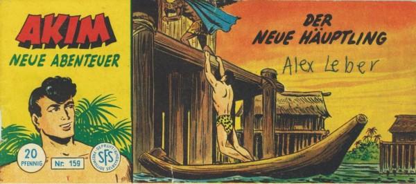 Akim neue Abenteuer Piccolo 159 (Z1, SM,SZ), Lehning