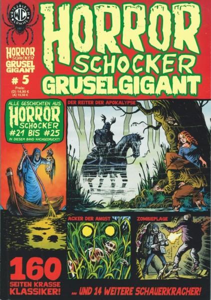 Horror Schocker Grusel Gigant 5, Weissblech