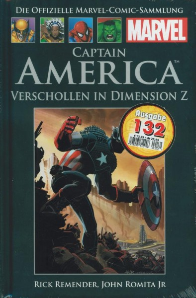 Hachette Marvel 132 - Captain America, Panini