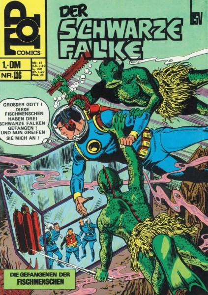 Top Comics - Der schwarze Falke 116 (Z1, St), bsv