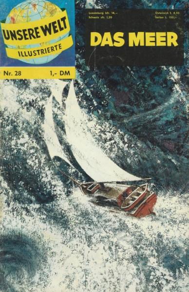 Unsere Welt Illustrierte 28 (Z2), bsv