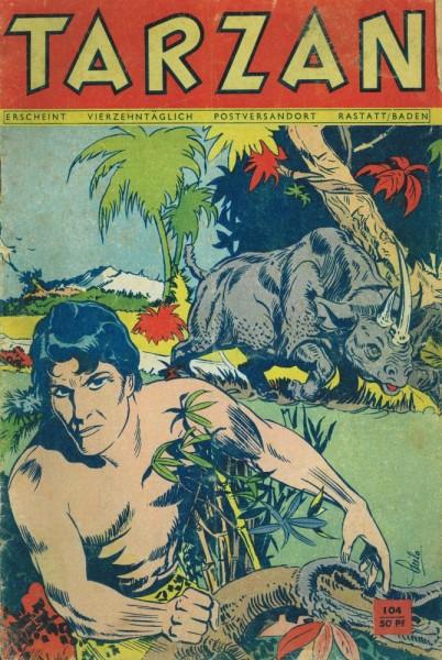 Tarzan 104 (Z2-3), Mondial