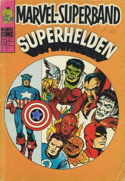 Marvel-Superband Superhelden 21 (Z1-2/2, Sz), Williams