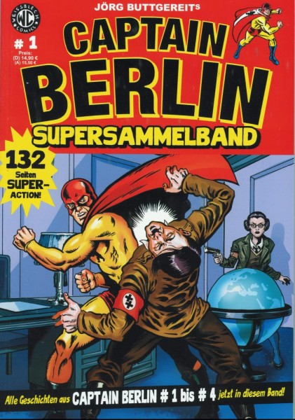 Captain Berlin Supersammelband 1, Weissblech