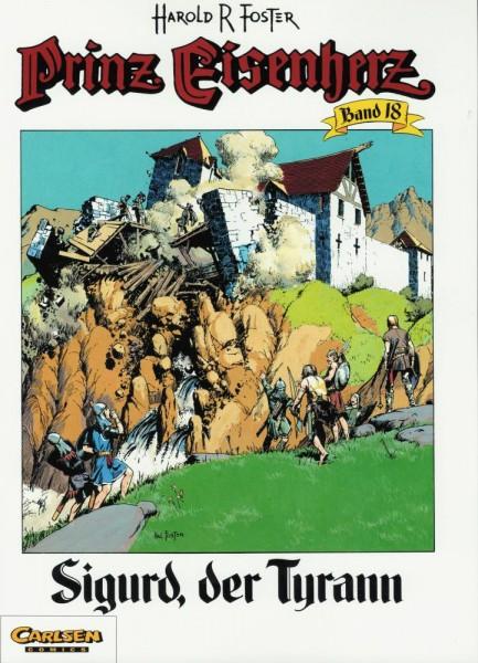 Prinz Eisenherz 18 (1. Auflage, Z0), Carlsen