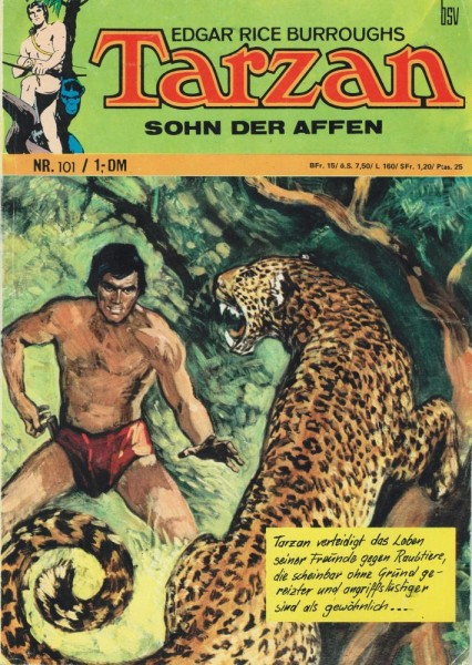 Tarzan 101 (Z2), bsv