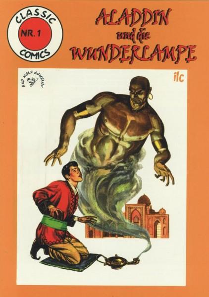 Classic Comics 1 - Aladdins Wunderlampe, ilovecomics Verlag