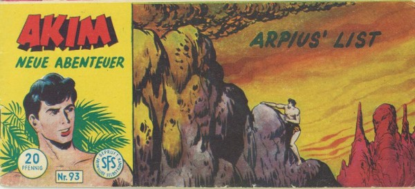 Akim neue Abenteuer Piccolo 93 (Z1), Lehning