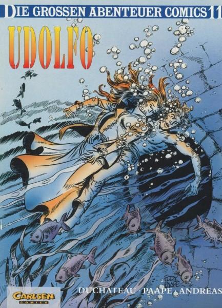 Die großen Abenteuer Comics 11 (Z1-2), Carlsen