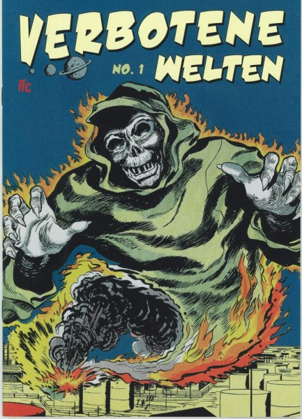 Verbotene Welten 1, ilovecomics Verlag