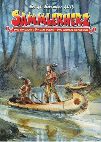 Sammlerherz 21, Comic - Nostalgiefreunde