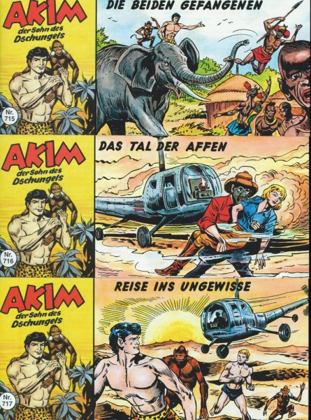 Akim 715-717, Nostalgiker Verlag