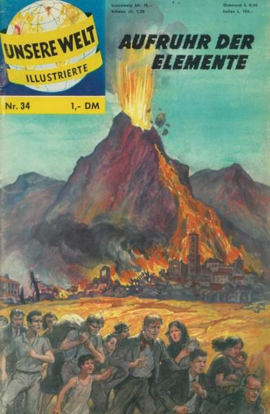 Unsere Welt Illustrierte 34 (Z1-2), bsv