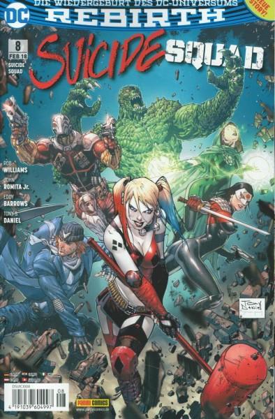 Suicide Squad Rebirth 8, Panini