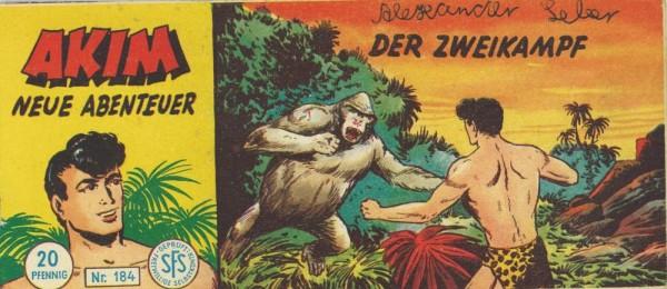 Akim neue Abenteuer Piccolo 184 (Z1,SZ), Lehning