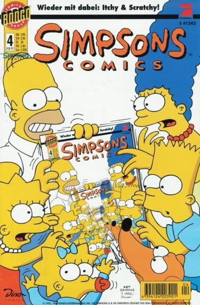 Simpsons Comics 4 (Z1-), Panini