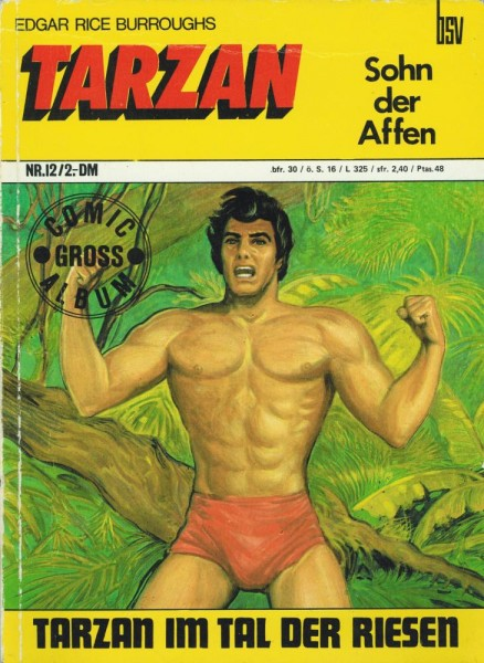 Tarzan Comic-Gross-Album 12 (Z2), bsv