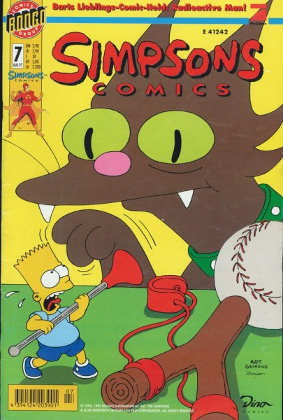 Simpsons Comics 7 (Z1), Panini