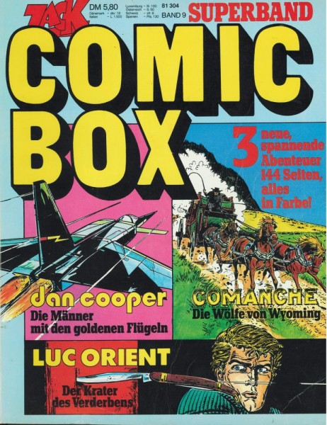 Zack Box 9 - Cooper/Comanche/Luc Orient (Z1-2), Koralle