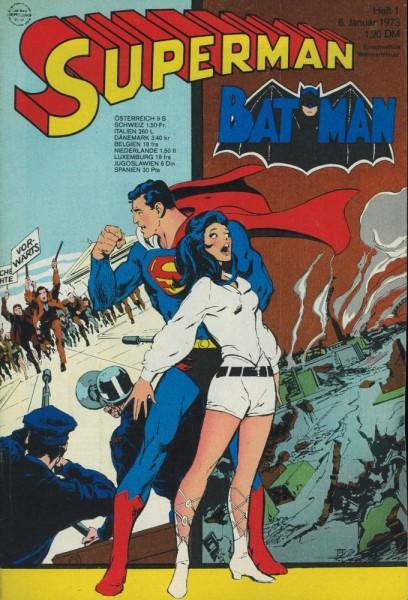Superman 1973/ 1 (Z1, Sm), Ehapa