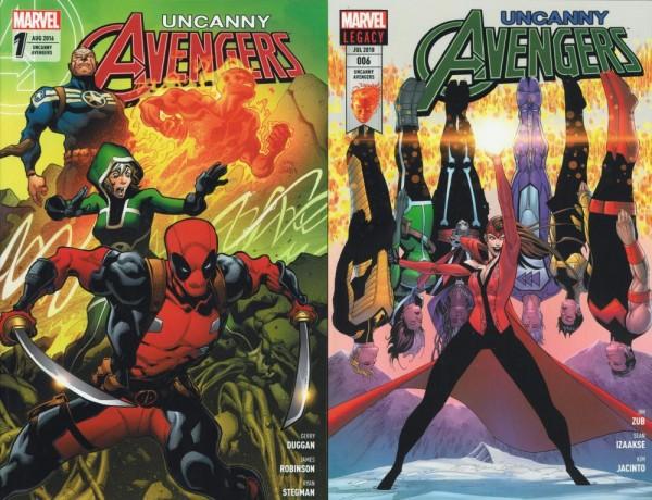 Uncanny Avengers (All New 2016) 1-6 (Z1), Panini