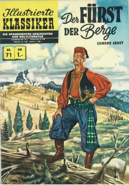 Illustrierte Klassiker 71 (Z1-2 HLN138), bsv