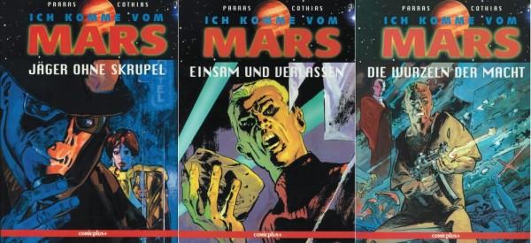 Ich komme vom Mars 1-4 (Z1, 1. Auflage), Comicplus