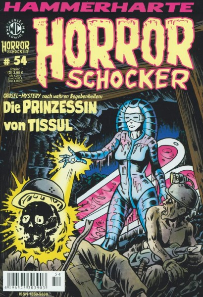 Horror Schocker 54, Weissblech