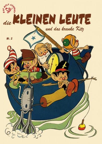 Die kleinen Leute 2, ilovecomics Verlag