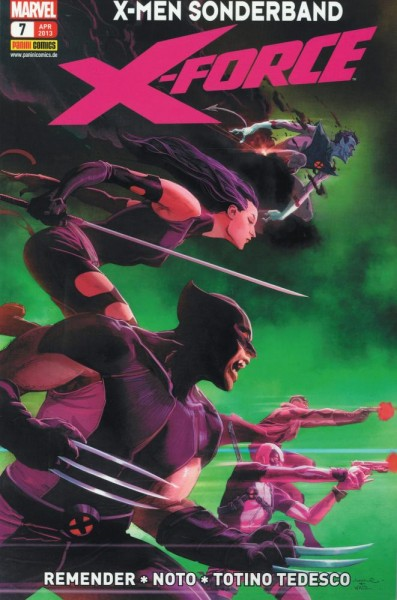 X-Men Sonderband 7 - X-Force, Panini